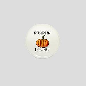 Pumpkin Power Mini Button