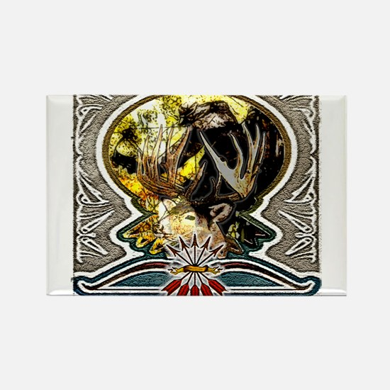 bow hunting art this bow hunt Rectangle Magnet