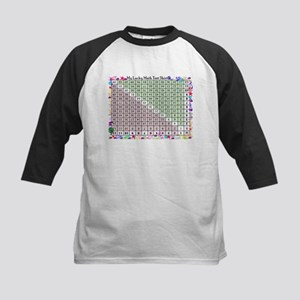 Upside down math chart Baseball Jersey