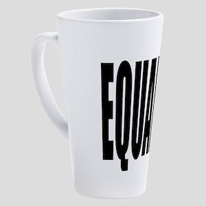 EQUALITY 17 oz Latte Mug