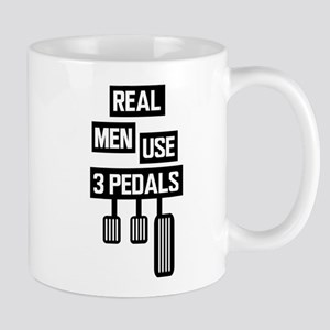 Real Men Use 3 Pedals Mugs