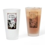A Call to China Drinking Glass