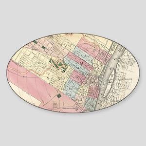 Vintage Map of Albany NY (1 Sticker
