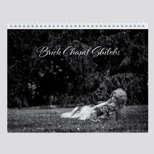 2018 Brick Chapel Wall Calendar