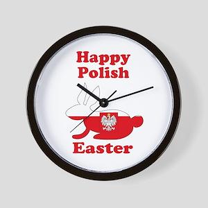 Polish Easter Wall Clock