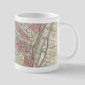 Vintage Map of Albany NY (1874) Mugs
