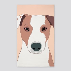 Jack Russell Terrier Area Rug