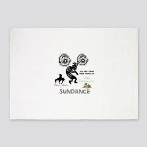 SUNDANCE. BETTER MOVIES, BETTER ENT 5'x7'Area Rug