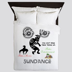 SUNDANCE. BETTER MOVIES, BETTER ENTERT Queen Duvet