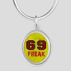 69 FREAK red black yellow vi Necklaces