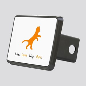 Cat Lovers Live Love Nap Purr Hitch Cover