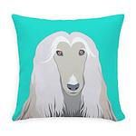 Afghan Hound Everyday Pillow