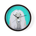 Afghan Hound Wall Clock