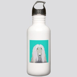 Afghan Hound Water Bottle
