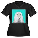 Afghan Hound Plus Size T-Shirt