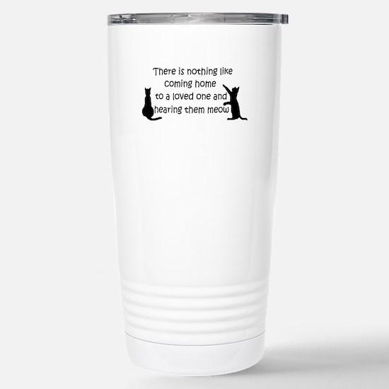 Coming Home to aCat Travel Mug