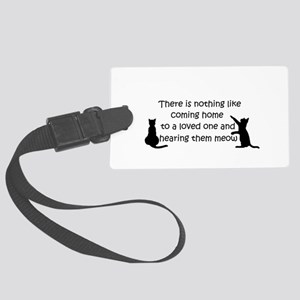 Coming Home to aCat Luggage Tag