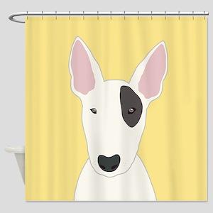 Bull Terrier Shower Curtain