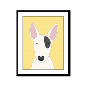 Bull Terrier Framed Panel Print