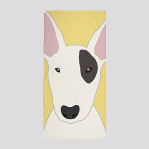 Bull Terrier Beach Towel