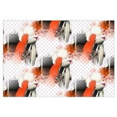 polka dots flapper Poster