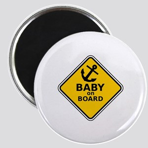 Anchor Baby on Board Magnet