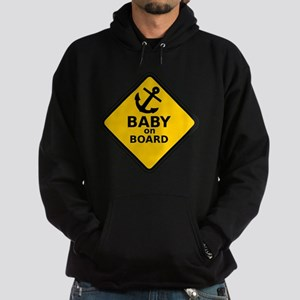 Anchor Baby on Board Hoodie (dark)