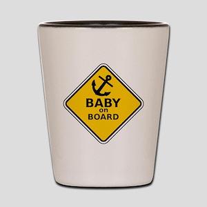 Anchor Baby on Board Shot Glass