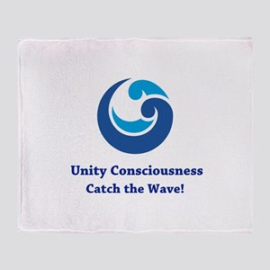 Unity Consciousness Unique Gifts Throw Blanket
