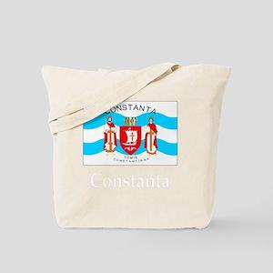 , Romania Flag Tote Bag