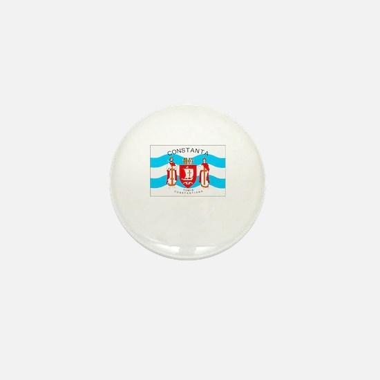 , Romania Flag Mini Button