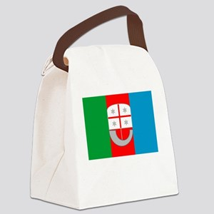 , Italy Flag Canvas Lunch Bag