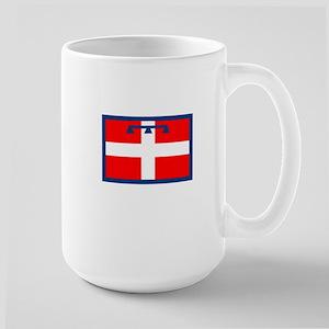 , Italy Flag Large Mug