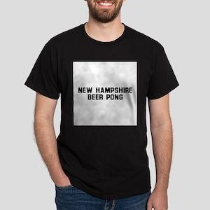 New Hampshire Beer Pong Dark T-Shirt