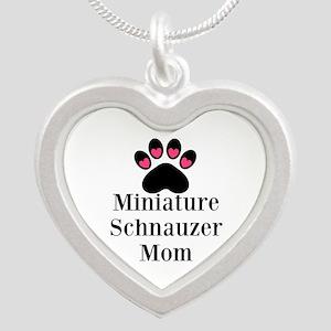 Miniature Schnauzer Mom Necklaces