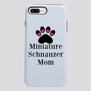 Miniature Schnauzer Mom iPhone 8/7 Plus Tough Case