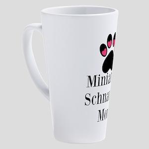 Miniature Schnauzer Mom 17 oz Latte Mug
