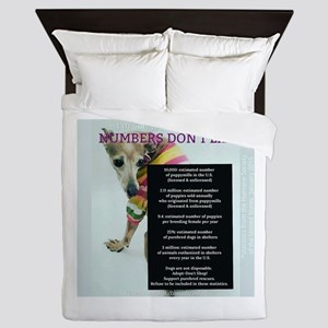 Numbers Dont Lie Queen Duvet