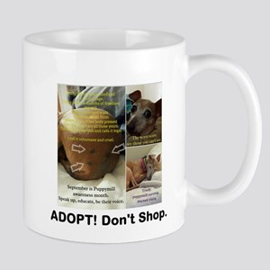 Adopt Dont Shop Trudy Mugs