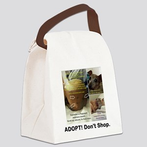 Adopt Dont Shop Trudy Canvas Lunch Bag