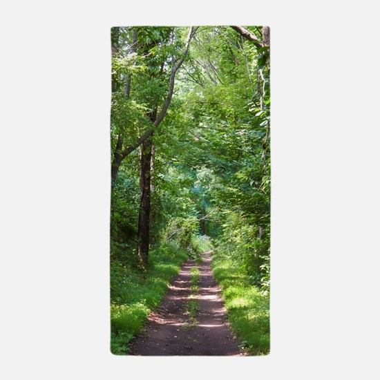 Forest Trail Beach Towel