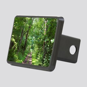 Forest Trail Rectangular Hitch Cover