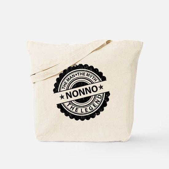 the man-the myth nonno Tote Bag