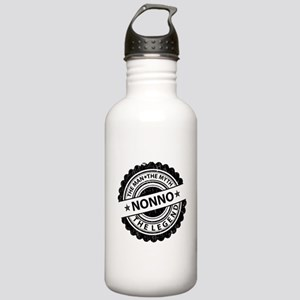 the man-the myth nonno Sports Water Bottle