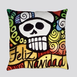 Day of the Dead Feliz Navidad Sugar Skull Christma