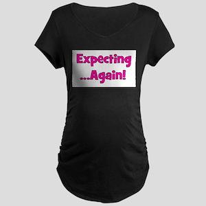 expectingagain Maternity Dark T-Shirt