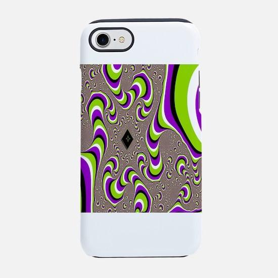 optical illusion iPhone 8/7 Tough Case