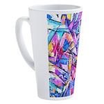 Fractal Prism1 17 oz Latte Mug