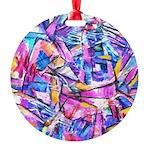 Fractal Prism1 Round Ornament