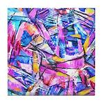 Fractal Prism1 Tile Coaster